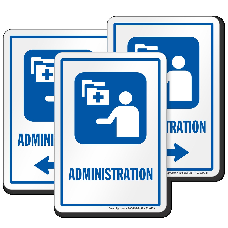 Administration Hospital Sign Medical Admin Symbol Sku