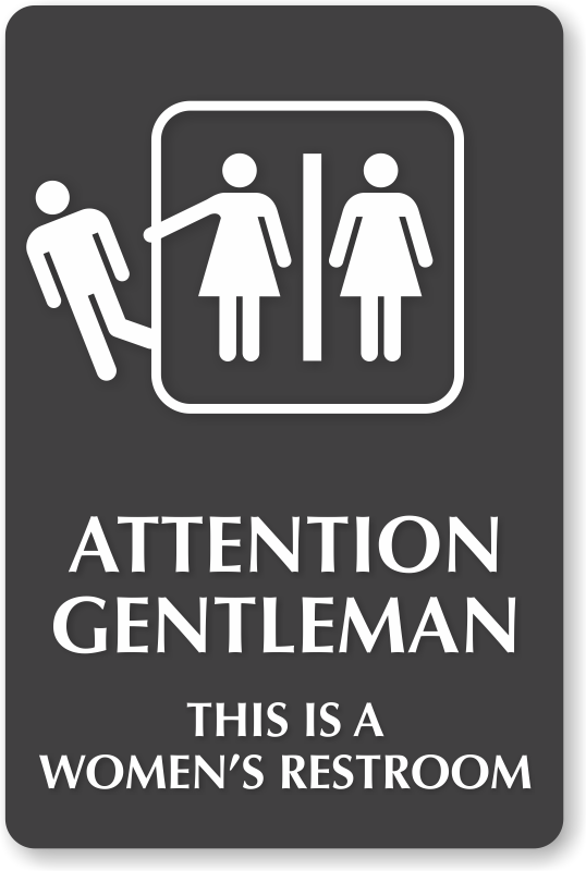 pics for gt womens bathroom sign With women only bathroom sign