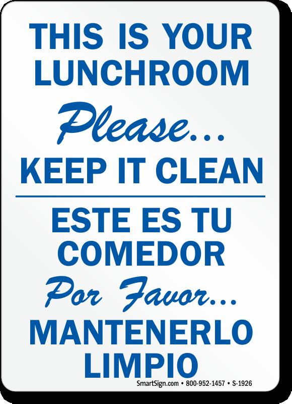 Lunchroom Etiquette At Work