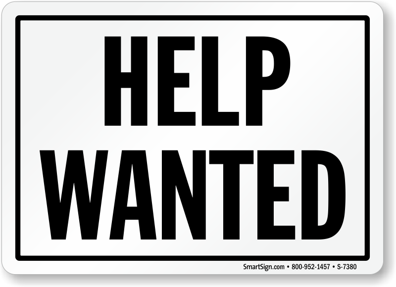 help wanted sign template printable