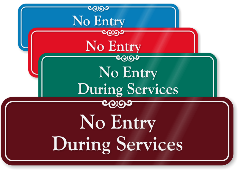 No Entry Signs Free Pdfs