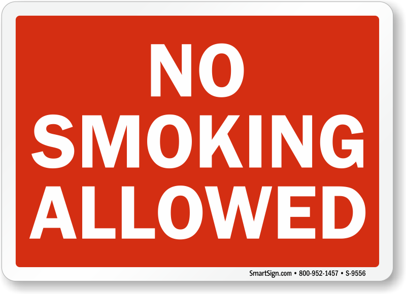 no smoking allowed on the job or off Are the smoking spaces sealed off or something else  in kansai the fine for smoking in a no-smoking area is  smoking on the street is not allowed.