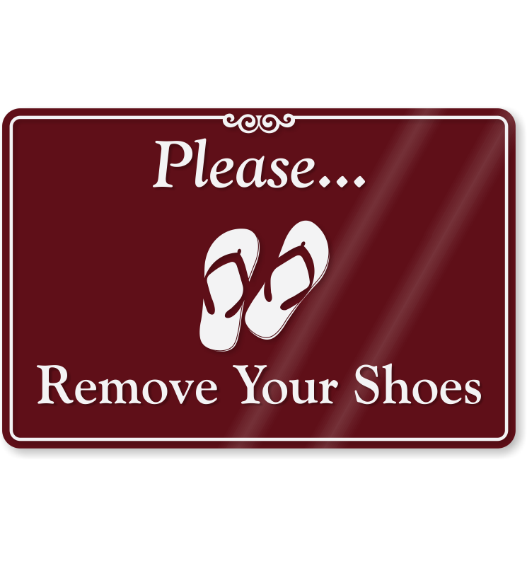 picture about Please Remove Your Shoes Sign Printable Free named Footwear on the internet. You should clear away your sneakers indication