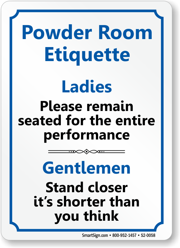 template for restroom etiquette | just b.CAUSE