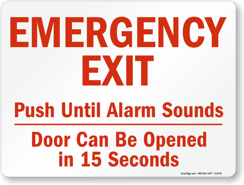 Can Emergency Exit Be In A Room In Building