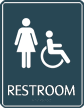 Female Restroom Sign