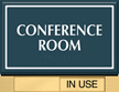 Custom Conference Room Sliding Panel Sign