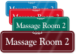 Massage Room 2 ShowCase Wall Sign