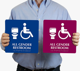 All-Gender Restroom Signs