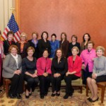 Restroom renovation underway to make room for growing number of female senators