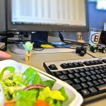 Dining at your desk? Here's the lunch etiquette you should follow