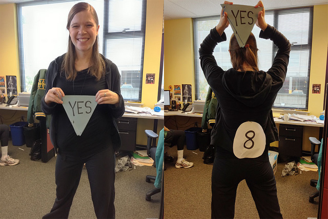 halloween costumes - Magic 8 Ball Halloween Costume