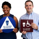 Check out MyDoorSign's all-gender restroom signs on Mashable!