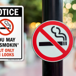 Get More Attention with Funny No Smoking Signs