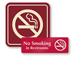 Designer No Smoking Signs