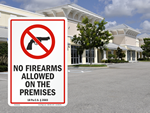 No Guns Law Signs by State