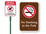 Smoking Prohibition Signs