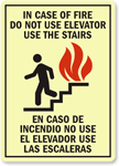 Stairwell Exit Signs