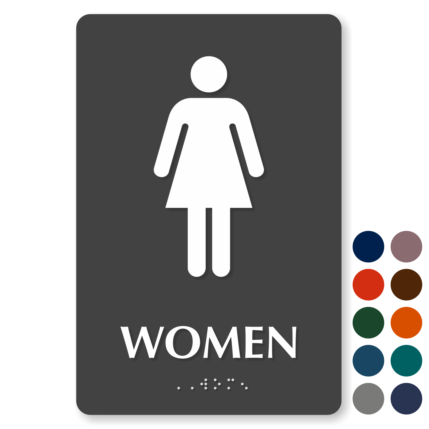 image regarding Women's Restroom Sign Printable identify Restroom Signs and symptoms Lavatory Signs and symptoms