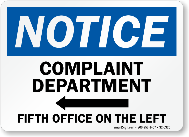 Funny Office Signs & Humorous Office Signs | Novelty Signs