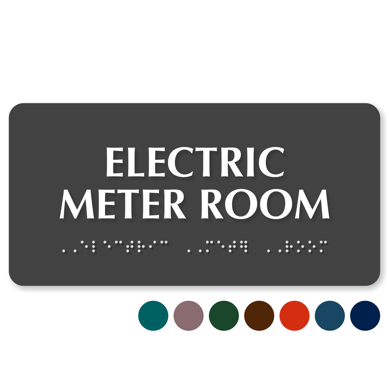 Meter Room Signs - Electric Meter Room Signs