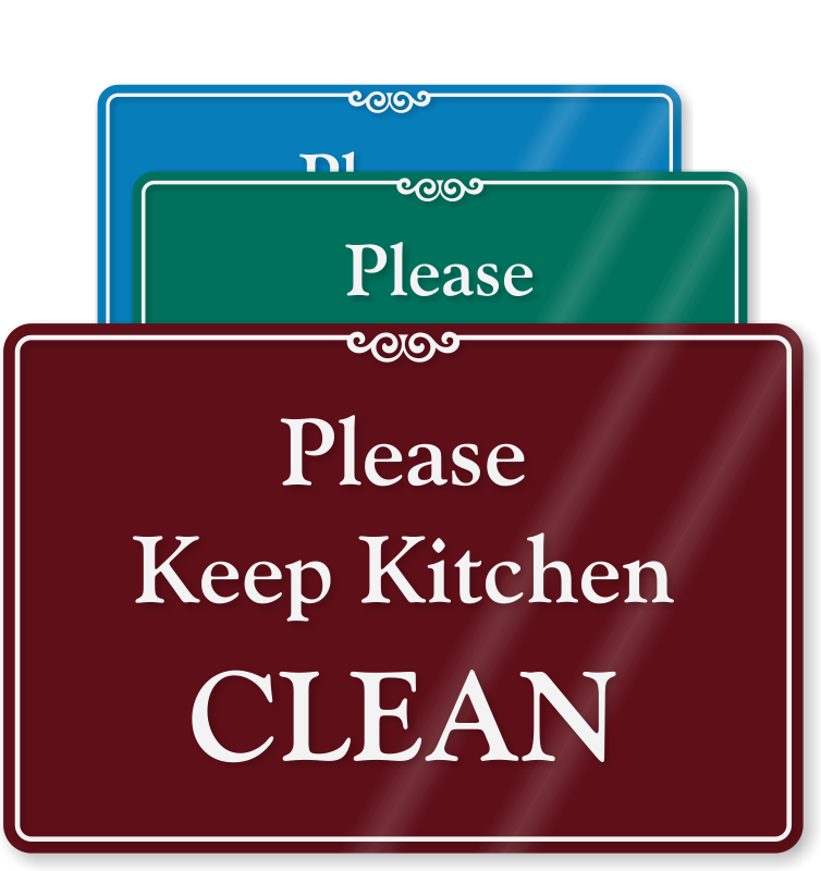clean kitchen signs keep the kitchen clean quotes quotesgram 737