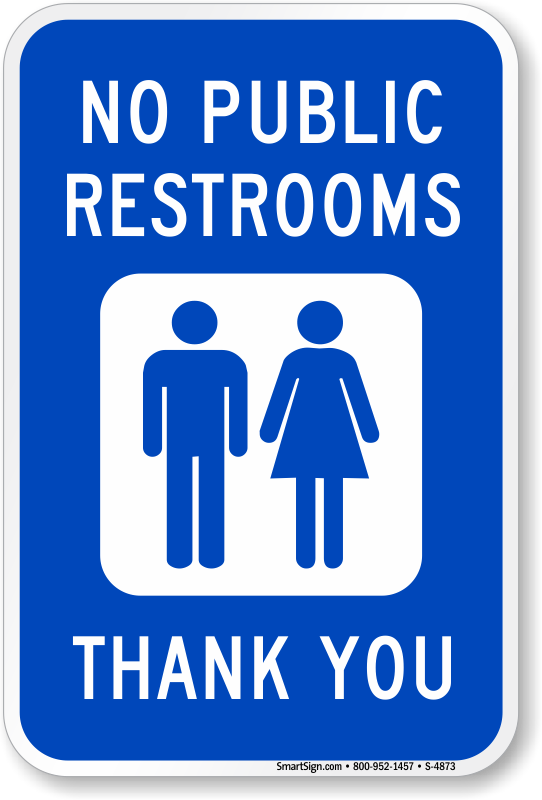 photo relating to Bathroom Sign Printable named Absolutely free Toilet Indications Down load PDF