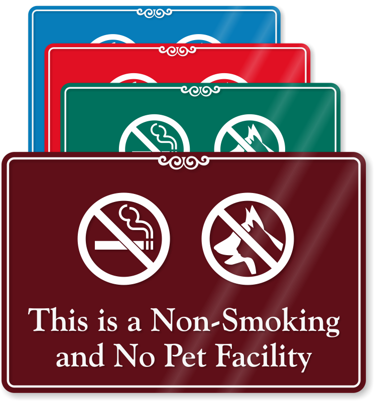 No Pets Allowed Signs : Keep Pets Away