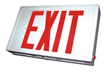 Steel LED Exit Sign