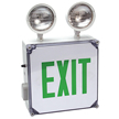 Wet Location Corrosive-Resistant Combo Exit Sign