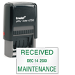 Inspection and Quality Control Self-Inking Stamp