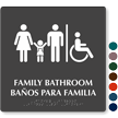 Bilingual TactileTouch™ Braille Sign, 12in. x 12in.