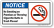 Cigarette Butt Sign