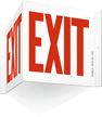 Projecting Exit Sign, 8in. x 9in.