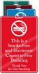 ShowCase™ E-Cigarettes Prohibited Sign