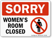 Bathroom Sign