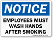 Hand Hygiene Notice Sign
